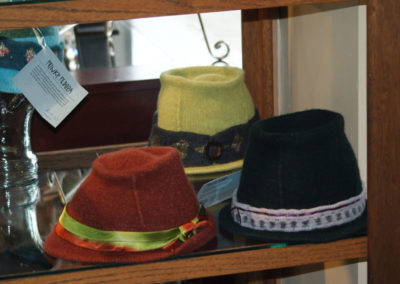Hand Knit Fedoras